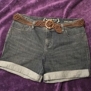 Sonoma denim shorts